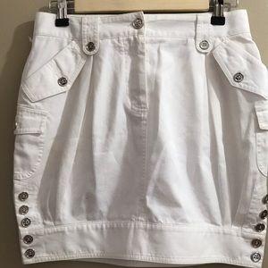 Dolce & Gabbana White Mini Skirt sz 38 US 4 NWOT